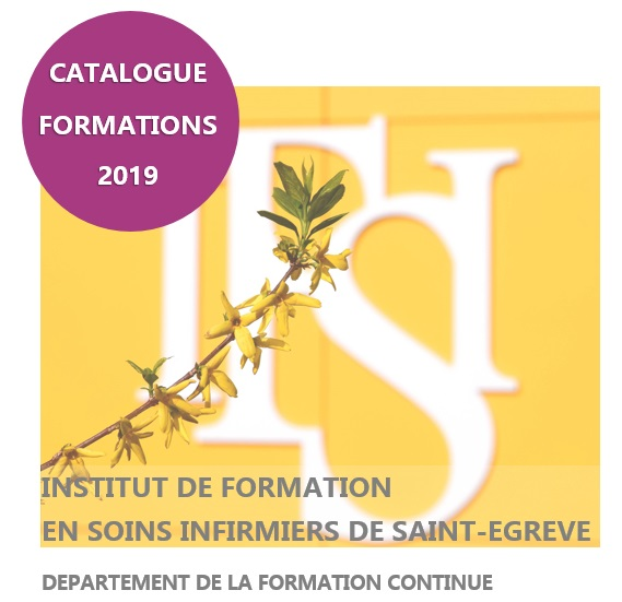 CATALOGUE FORMATION CONTINUE IFSI SAINT-EGREVE